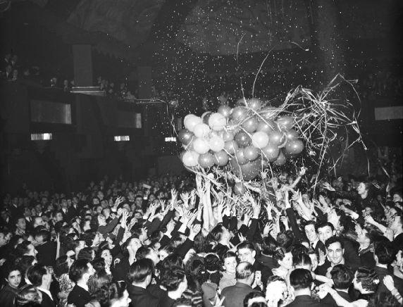 (22991) New Year's Eve Celebration, 1936