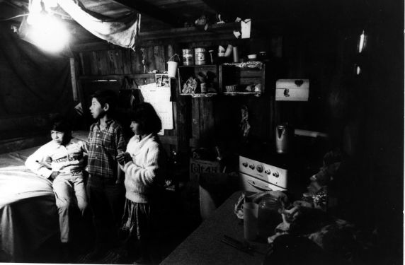 (248) Living Conditions, Labor Camp, Florida, 1969