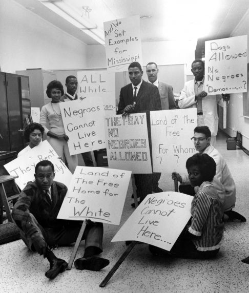 (24841) NAACP, Demonstrations, Housing Discrimination, Detroit, 1962