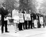 (24848) NAACP, Demonstrations, State Capitol, Lansing