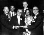 (24860) NAACP, Members, Fight for Freedom Dinner, 1960
