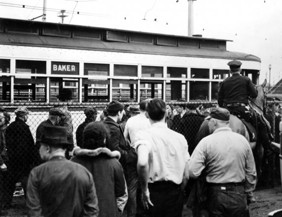 (25240) UAW Organizing, Battle of the Overpass, Dearborn, 1937