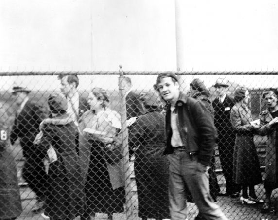 (25249) UAW Organizing, Battle of the Overpass, Dearborn, 1937