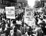 """(25333) Civil Rights, Demonstrations, """"March to Freedom,"""" Detroit, 1963"""