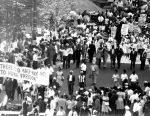 """(25335) Civil Rights, Demonstrations, """"March to Freedom,"""" Detroit, 1963"""