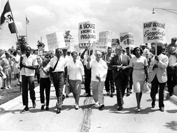 (25363) Civil Rights, Demonstrations, Oak Park, Michigan, 1963