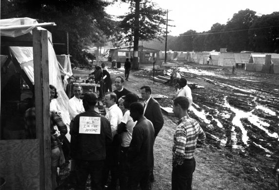(25373) Resurrection City, Living Conditions, Poor People's Campaign, 1968
