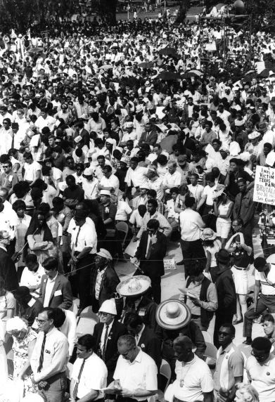 (25389) Marches, Demonstrations, Poor People's Campaign, Washington DC, 1968