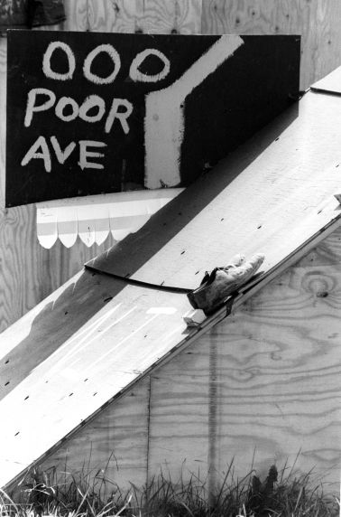 (25394) Resurrection City, Poor People's Campaign, Washington DC, 1968