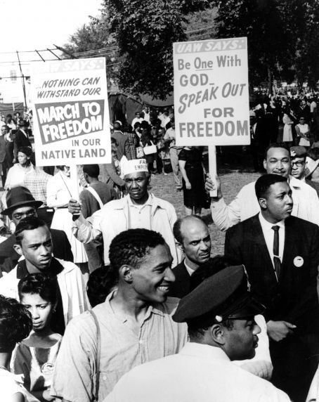 """(25401) Civil Rights, Demonstrations, """"March on Washington,"""" 1963"""