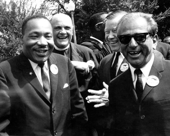 """(25403) Civil Rights, Demonstrations, """"March on Washington,"""" Leaders, 1963"""