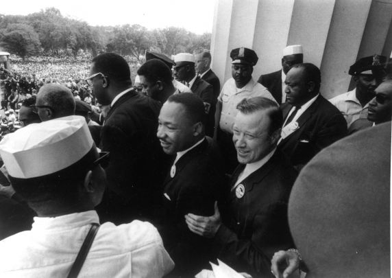 "(25405) Civil Rights, Demonstrations, ""March on Washington,"" King, 1963"