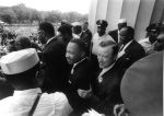 """(25405) Civil Rights, Demonstrations, """"March on Washington,"""" King, 1963"""