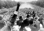 """(25406) Civil Rights, Demonstrations, """"March on Washington,"""" King, 1963"""