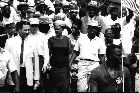 """(225427) Civil Rights, Demonstrations, """"Meredith March Against Fear,"""" Mississippi, 1966"""