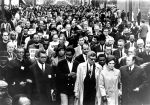 (25502) Civil Rights, King, Assassination, Memorial March Memphis, Tennessee, 1968