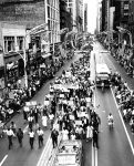 """(25873) Civil Rights, Demonstrations; """"Freedom March,"""" Chicago, 1963"""