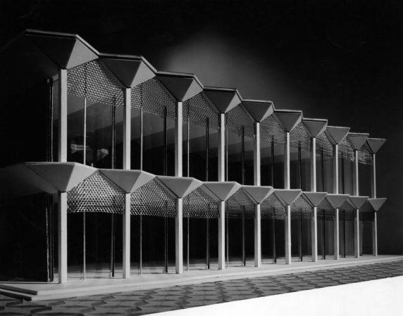 (25919) Buildings, McGregor Memorial, Architectural Model
