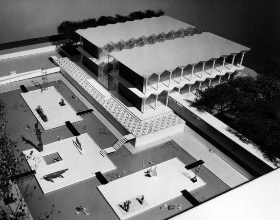 (25921) Buildings, McGregor Memorial, Architectural Model
