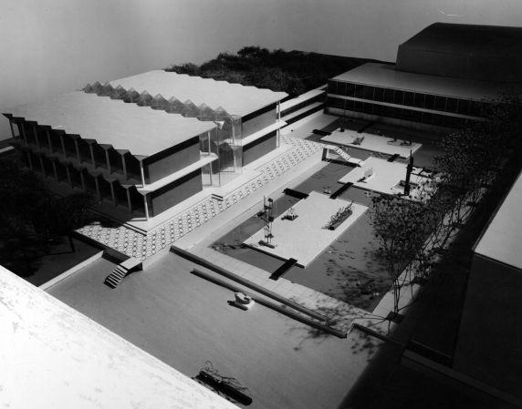 (25922) Buildings, McGregor Memorial, Architectural Model