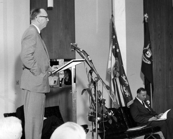 (25931) Buildings, McGregor Memorial, Dedication, 1958