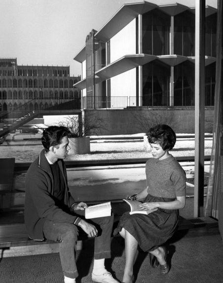 (25947) Buildings, McGregor Memorial, Gardens, 1960s