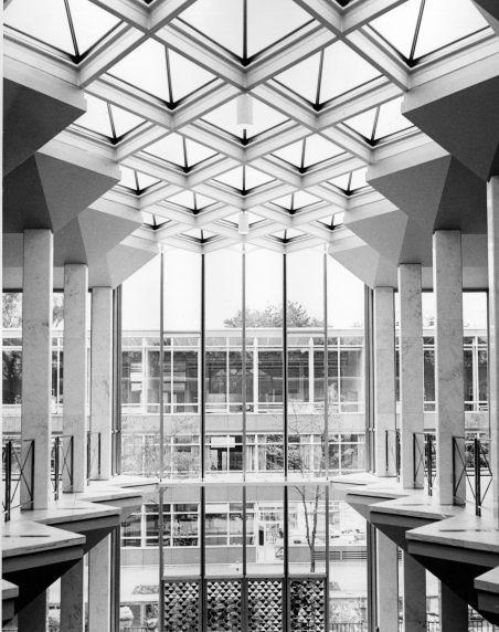 (25949) Buildings, McGregor Memorial, Interiors, 1950s