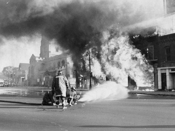 (25994) Riots, Rebellions, Arson, West Side, 1967