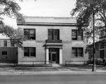 (26078) Buildings, Mortuary Science, Exterior View, Detroit, c.1940s
