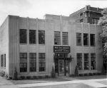 (26080) Buildings, Mortuary Science, Exterior View, Detroit, 1950s