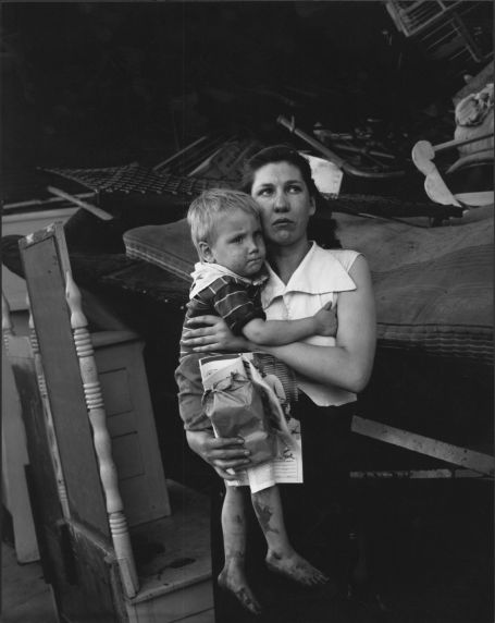 (2663) Feature Stories, Evictions, Detroit, Michigan, 1954