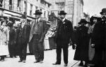 (26676) Paterson Strike, Paterson Pageant, Haywood, Tresca, New York, 1913