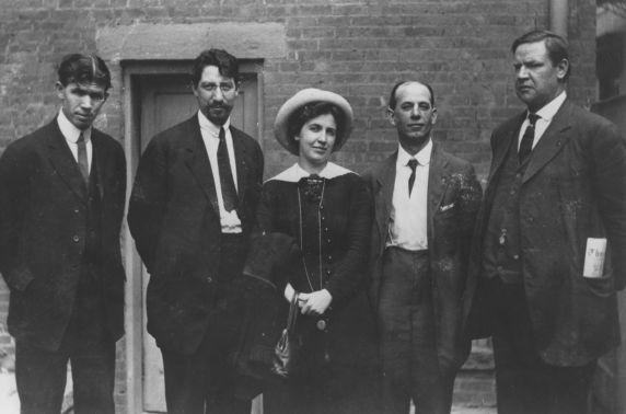 (268) Paterson Silk Strike, IWW Leadership, 1913