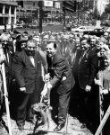 (26971) Groundbreaking, Pulaski Statue, Detroit, 1965
