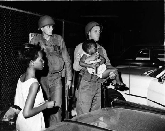 (25986) Riots, Rebellions, Displaced Persons, Children, 1967