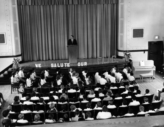 (27055) Detroit Public Schools, Flag Day Celebration, 1967
