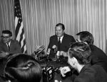 (27191) Cavanagh, Breakthough Pickets, Press Conference, 1960s