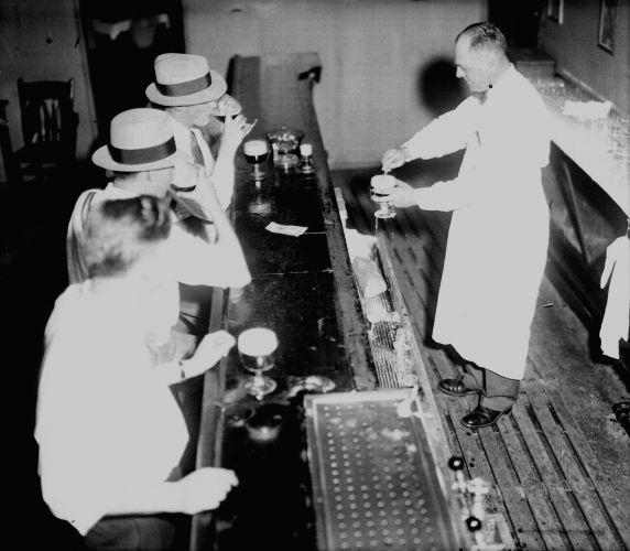 (27858) Prohibition, Blind Pigs, Detroit, 1931