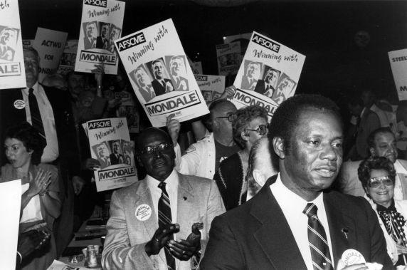 (27909) AFL-CIO Mondale Endorsement