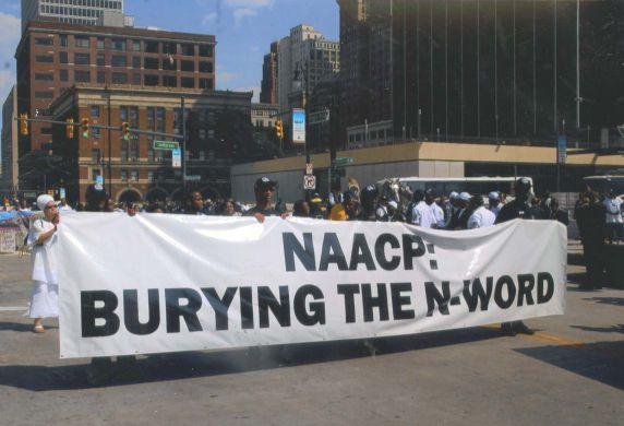 """(28042) Demonstrations, NAACP, Funeral, """"N-Word,"""" 2007"""