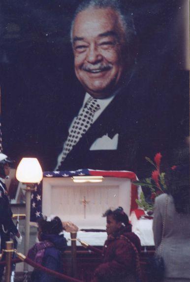 (28050) Funerals, Mayor Coleman Young, Detroit, 1995