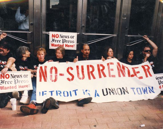 (28066) Strikes, Detroit Newspaper Strike, 1996