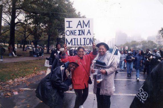(28071) Demonstrations, Million Woman March, Philadelphia, 1997