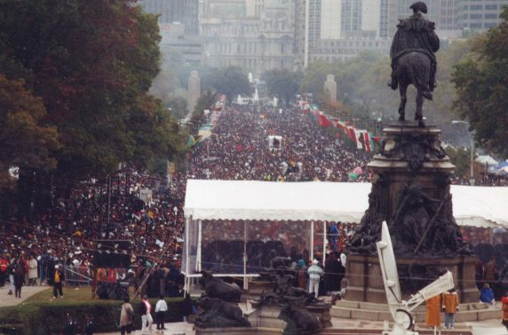 (28072) Demonstrations, Million Woman March, Philadelphia, 1997