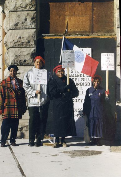 (28074) Demonstrations, GAR Building, Daughters of the Union, 2000