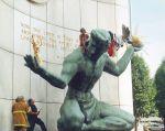"""(28078) Demonstrations, """"Spirit of Detroit,"""" 2001"""