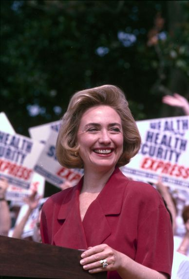 (28114) Clinton for health care reform