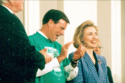 (28115) McEntee, Clinton for health care reform