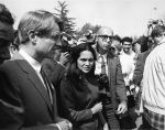 (28205) Dolores Huerta, Robert Kennedy, United Farm Workers, Ceasar Chavez breaking of the fast