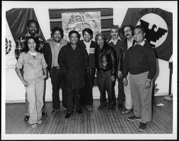 (28209) Caesar Chavez, UFW officials
